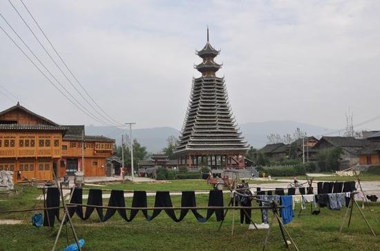 Rongjiang County, Kina: 鼓楼