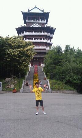 Jinjiangshan Park : 锦江山公园里的楼阁,还不错吧!
