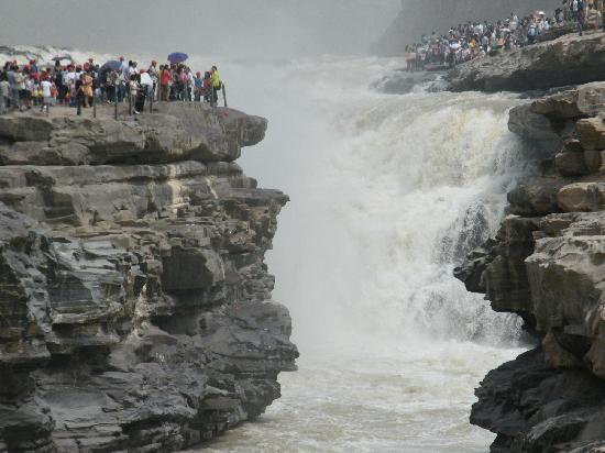 Hukou Waterfall: hukou