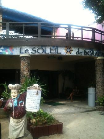 Le Soleil de Boracay: 招牌