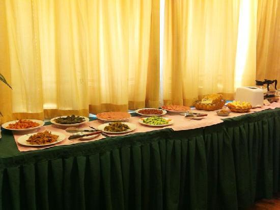 GreenTree Inn Shanghai Songdong Business Hotel: 早餐