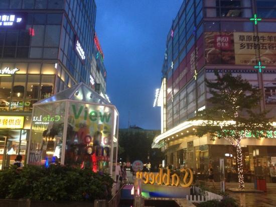 Daning Internatioal Business plaza : 雨后的大宁国际