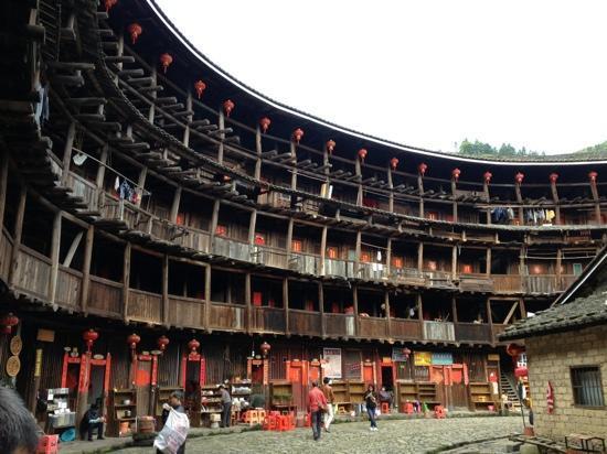 Yuchang Building: 楼内景