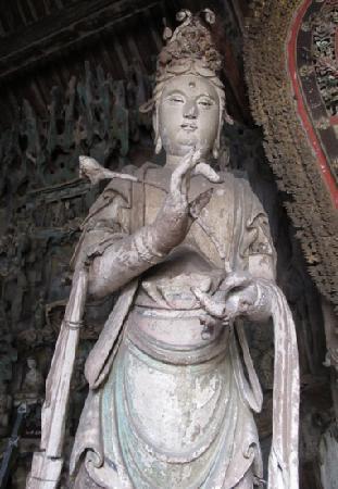 Shuanglin Tempel: 双林寺菩萨