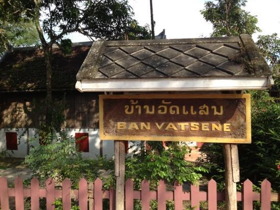 Le Café Ban Vat Sene: 招牌