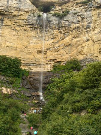 Fuping County, China: 一泻千里