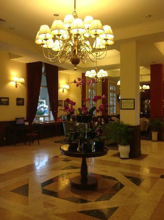 Du Parc Hotel Dalat : 酒店大厅
