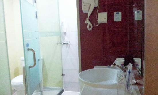 Hanting Express Yangzhou Geyuan : 浴室