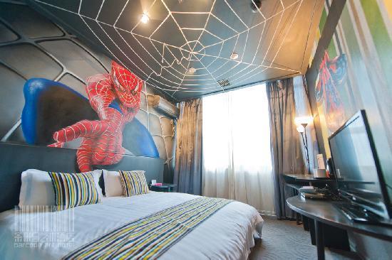 Barcode Art Hotel: 房间(蜘蛛侠)