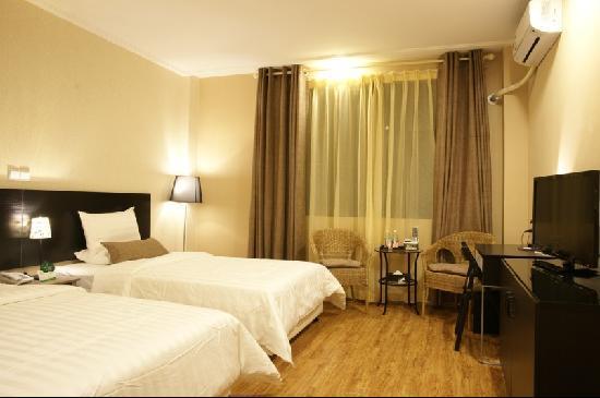 Siji Ruchun Hotel : 豪华双人房