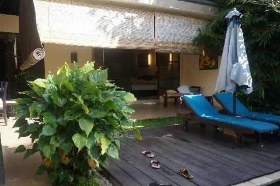Bali Rich Luxury Villas Ubud: two bed room pool villa