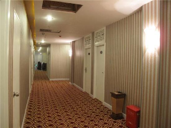 GreenTree Alliance Shanghai Chenghuang Temple Bund Hotel: 走廊