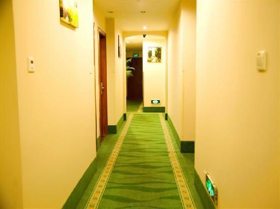 GreenTree Inn Shanghai Nanqiao Middle Renmin Road: 走廊