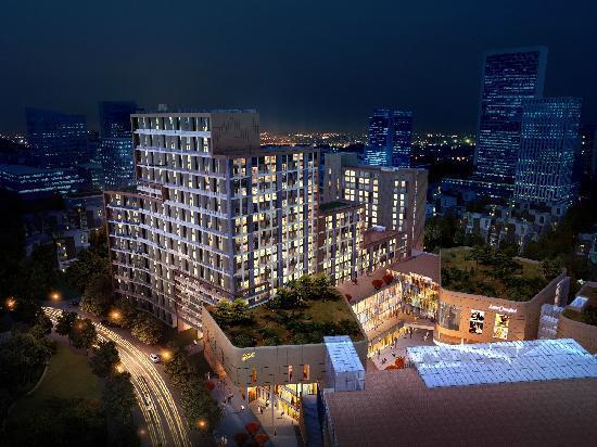 Lejiaxuan Creative Theme Serviced Apartments Qingdao Thumb Plaza: yejing