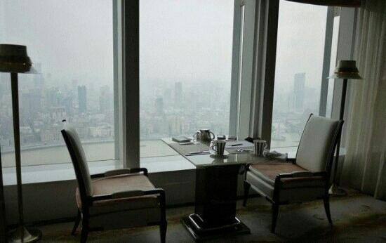The Ritz-Carlton Shanghai, Pudong: 很棒的视野