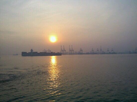 Penang Ferry Terminal: 码头景色