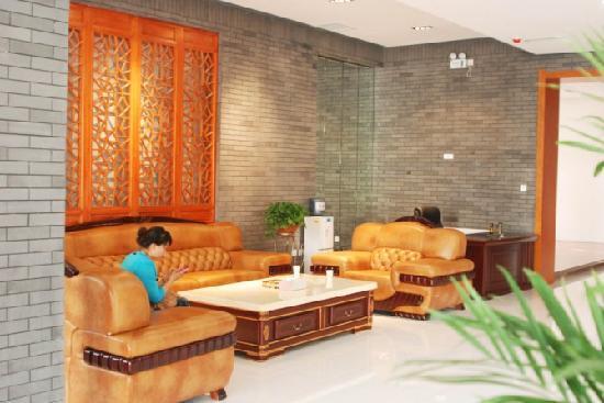 Huanghe Building Hotel: 酒店一角