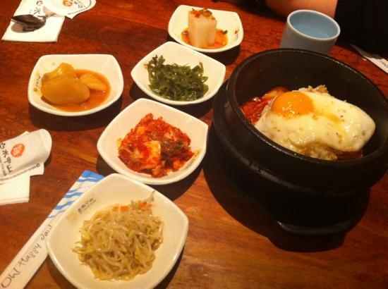 Samurai Sushi: 餐前小菜及拌飯