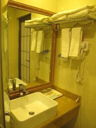 Super 8 Hotel Ankang Ba Shan Xi Lu : 卫生间