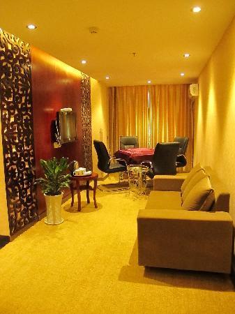 Super 8 Hotel Ankang Ba Shan Xi Lu : 商务套房