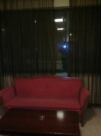 Hanting Express (Shanghai Zhangjiang): 沙发和大窗户