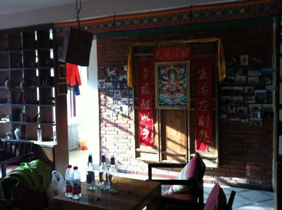 Sunshine Pagoda International Youth Hostel: 大厅