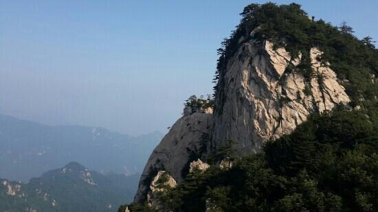 Song County, Kina: 木札岭官帽峰