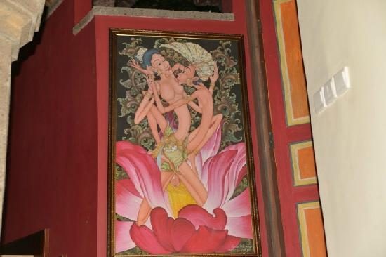 Bidadari Private Villas & Retreat - Ubud: painting