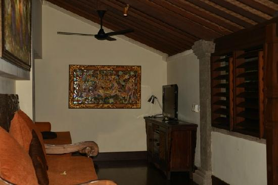Bidadari Private Villas & Retreat: living room