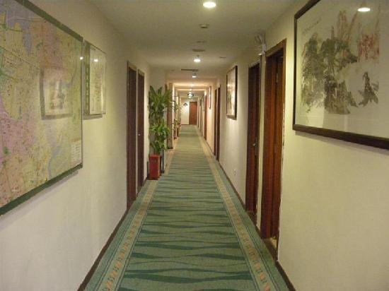 GreenTree Alliance Shanghai Yuyuan Hotel: 走廊
