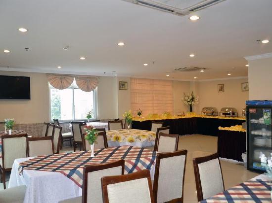 GreenTree Inn Shanghai Jinshan City Beach Business Hotel: 餐厅