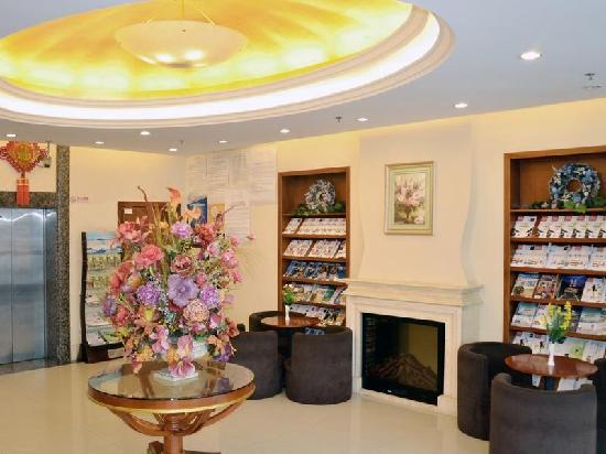 GreenTree Inn Shanghai Jinshan City Beach Business Hotel: 大堂