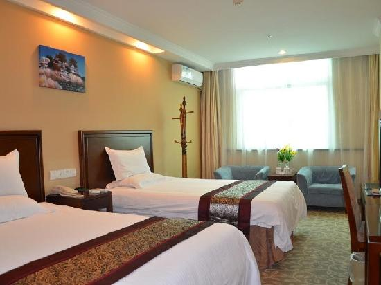GreenTree Inn Shanghai Jinshan City Beach Business Hotel: 客房