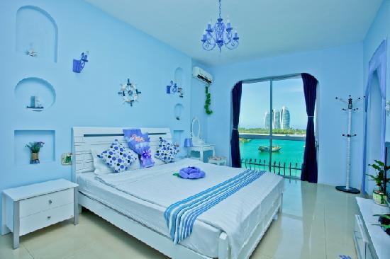 Yimi Hai'an Seaview Villa Inn : 豪华海景房