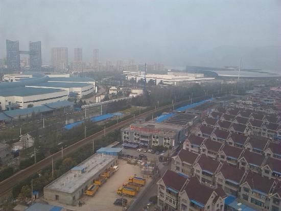 Four Points by Sheraton Hangzhou, Binjiang: 酒店窗外