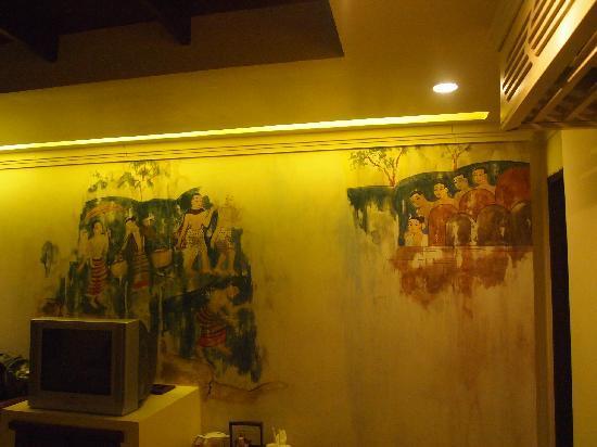 B2 Ayatana Premier Hotel & Resort: 流氓壁画1