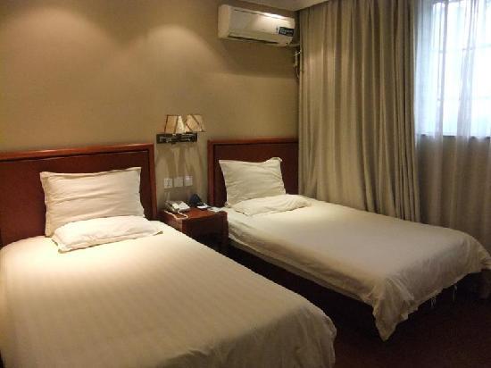 GreenTree Inn Shanghai Nanxiang Express Hotel: 客房
