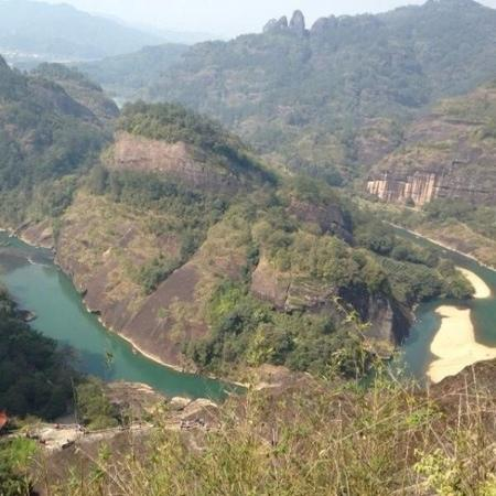 Jiuqu Stream in Wuyishan Mountain : 美