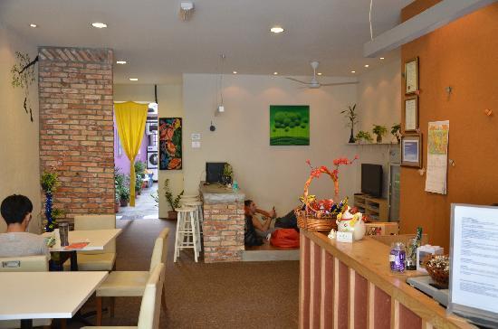 Raizzy's Guesthouse : 自助区