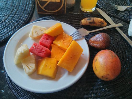 Club Bali Mirage: 新鲜的水果
