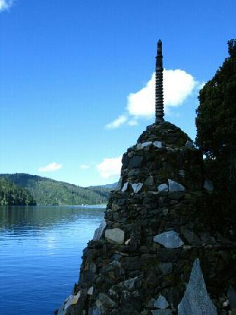 Bitahai Lake: 蓝色