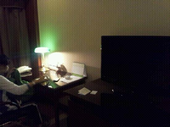 The Pavilion Hotel: desk