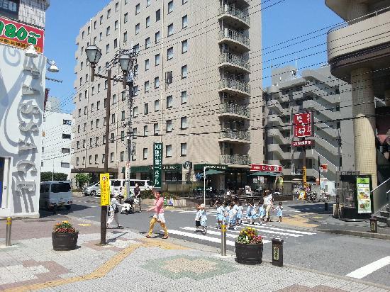 Mizue Dai-Ichi Hotel : FROM SUBWAY STATION  TO HOTEL