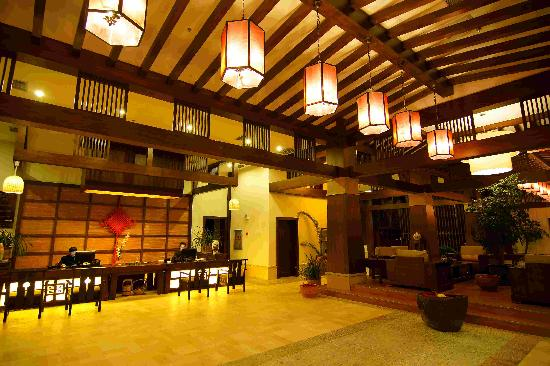Tengchong Hot Spring Spa: 大堂接待区