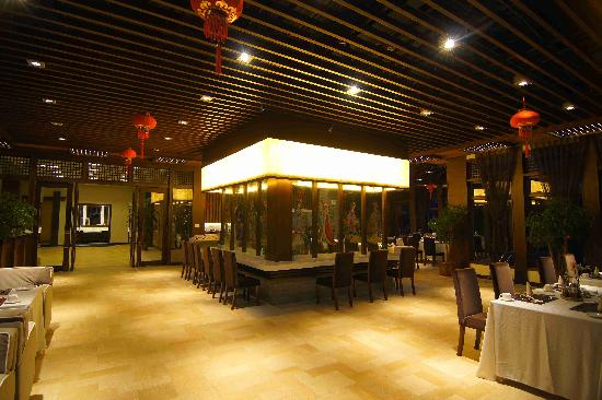 Tengchong Hot Spring Spa: 温泉餐厅