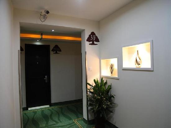 GreenTree Alliance Hotel Shanghai Minhang SJTU: 走廊