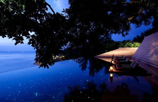 Paresa Resort Phuket : 无边游泳池