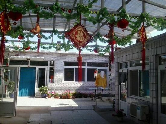 Yiming Guest House: 呵呵可以吃了