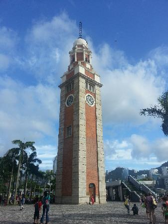 Former Kowloon-Canton Railway Clock Tower : 钟楼
