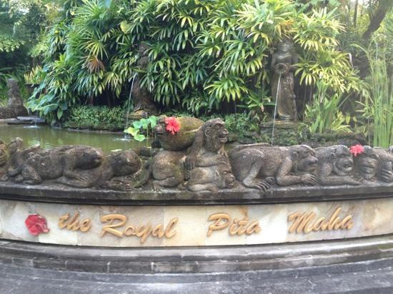 The Royal Pita Maha: 门口